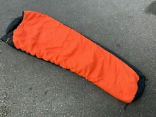 EX MOD Surplus Snugpak Softie 12 Pertex Sleeping Bag Orange & Black