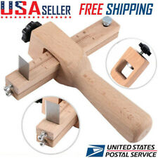 Adjustable Wood Craft Strip & Strap Belt Cutter Leather Hand Cutting Tool Kit US