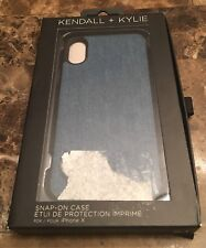 IPhone X 10 Case KENDALL + KYLIE Jeans case NEW