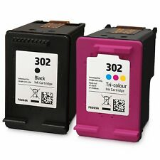 2 tintas compatibles 302 XL OfficeJet 4654 3830 3834 4650 DeskJet 2130 3630 1110