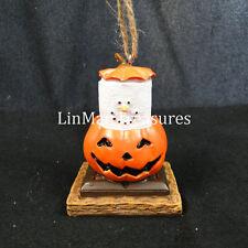 S'mores Pumpkin Jack O Lantern Ornament Midwest CBK