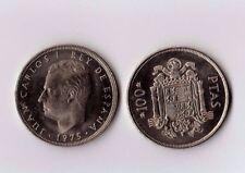 Moneda 100 PESETAS 1975*76 SIN CIRCULAR. Juan Carlos I Cien pesetas de Cartucho