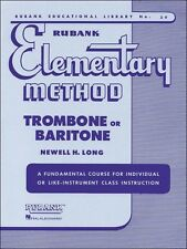 Rubank Elementary Method - Trombone or Baritone, 4470020