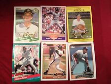 1988 89 90 91 92 93 Donruss Fleer Topps Score Baseball complete your set pick 50