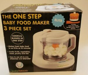 Baby Brezza Glass One Step Baby Food Maker Elite BPA FREE