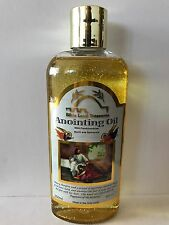 Anointing Oil w/ Frankincense, Myrrh and Spikenard From Israel With Gold Glitter