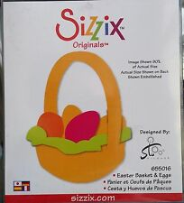 New Sizzix  Originals Easter Basket and Eggs 655016