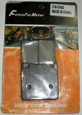 FOREVER RUN MOTOR CARBON KEVLAR BRAKE PADS 216-CK63 ONE REAR PAIR SET NEW