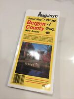 Bergen County, New Jersey Pocket  Map by Hagstrom Map Company (7-11 Markings)