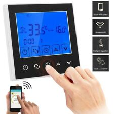 LCD Touch Screen Wifi Smart Programmable Thermostat Electric Heating App Control