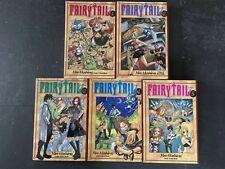 Fairy Tail Manga Lot Ebay