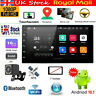 7'' Android 10.1 Double DIN 16G Quad Core GPS Bluetooth Car Stereo MP5 Player FM