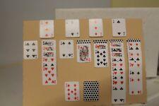 Handcrafted Card & Buste (Design SOLITARIO Gioco di Carte