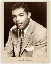 JOE LOUIS 1946 World Boxing Champion  8X10 A++ Photograph Autographed RP