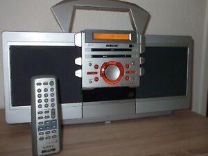 SONY ZS-D55 Stereo Radio-Kassette-CD Player + Bonus (25 CD`s)