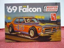 AMT 30142 1969 FORD FALCON MODIFIED STOCKER 1/25 MODEL CAR KIT STOCK SEALED