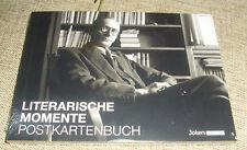 22 Postkarten Literarische Momente OVP !! / TB ~~ Postkartenbuch Hesse, Heine ..