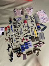 Large Lot Of Vintage Gi Joe Action Figures, Weapons,Accessories,Stickers,& Parts