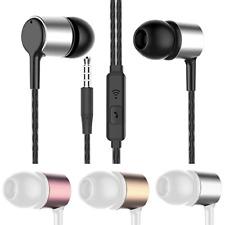 2Pk Earphones Headset Earbuds Headphones In-Ear Super Bass Hi-Fi with Mic Wired