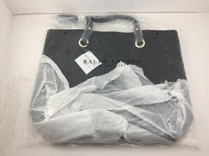 "NEW Ralph Lauren Womens Fragrances Woman Intense Black Tote Bag 18"" x 14"" x 5.5"""