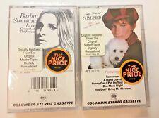 Barbra Streisand Songbird & Live Concert at the Forum New Sealed Cassettes