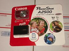 Canon PowerShot A2500 16.0MP Digital Camera Bundle Brand New