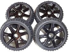 NITRO 1/8 RC BUGGY HPI TROPHY 3.5 SET OF WHEELS NEW