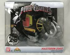 Sabans Mighty Morphin Power Rangers Mastodon Zord Legacy Collection Black Ranger