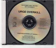 (HI11) Urge Overkill, Positive Bleeding - 1993 DJ CD