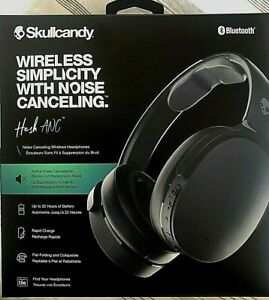 2020 NEW Skullcandy HEADPHONES Hesh ANC Wireless Noise Canceling Headset S6HHW