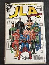 JLA International #1 Signed Ed McGuiness SS DC Comics Combine Shipping