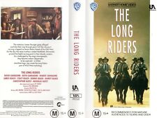 THE LONG RIDERS - Carradine -VHS - PAL -NEW - Never played! -Original Oz release