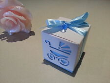 10 pk-Baby Boy- laser cut carriage party favour