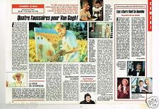 Coupure de presse Clipping 1990 (1 page 1/2) Film Vincent et Theo Van Gogh