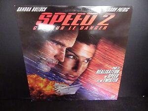 Laserdisc, Speed 2, Very Good Condition! Complete