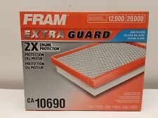 Fram Extra Guard Air Filter CA10690  2X Engine Protection  12,000 miles  NEW BOX