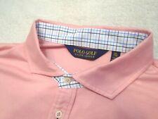 Polo Ralph Lauren Cotton Winston Collar Pink Polo Golf Shirt NWT XXL $98.50