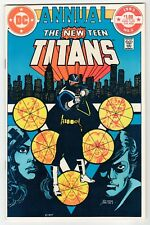 DC - NEW TEEN TITANS ANNUAL #2 - NM 1983 Vintage Comic