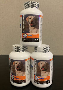Cosequin DS Maximum Strength MSM For Dogs LOT OF 3 - 132 Chewable Tablet