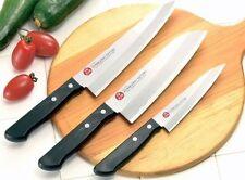 Japanese Kitchen Knife Set Gyuto Santoku Petty Shimomura Stainless Made in Japan