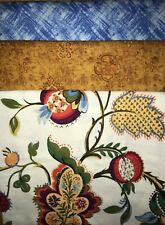 """Quilt, Sew, Fabric Kit Stepping UP 45 1/2 """" x 60 1/2""""  Timeless Treasures & othe"""