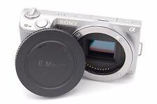Sony Alpha NEX-5N 16.1 MP Digital Camera - Silver (Body Only)