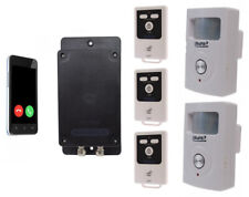 Covert Battery Powered 3G GSM UltraDIAL Alarm supplied with 2 x PIR with Sirens