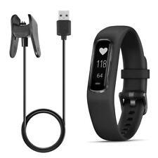 USB Charger Data Snyc Cable Charging Cradle for Garmin Vivosmart 4 Smart Watch