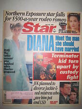 Star Magazine 7-30-1991.  Princess Diana! JFK! Janine Turner! General Hospital!
