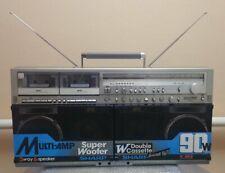 Sharp GF-909 (GF-777) Stereo Boombox Ghettoblaster