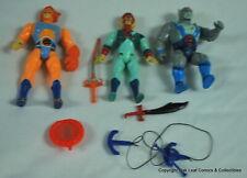 Lot #6 He-man & Masters of Universe 3 Figures & accessories. MOTU No reserve!
