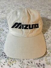 Vintage Mizuno golf hat made in the USA khaki Soft Fitted Baseball adult cap