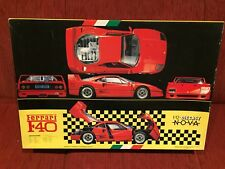Ferrari F40 Fujimi Model Kit 1/12 RARE New in Box collectable. Die cast NOVA