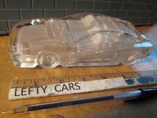 Ferrari Testarossa Crystal Decorative Collectible Model Car Paperweight